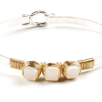 Coiled Trinket Bangle
