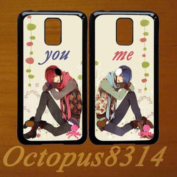 You,Me,Best friends,in pair two pcs,samsung galaxy s5,samsung galaxy s4,galaxy S3 case.Samsung S3 mini,S4 mini,S4 active case,Note 2 case