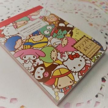 80 Pc. Mini Memo Pad Japan Exclusive Stationery Homework School Supplies, Paper Supplies, Snail mail, Notes, Scrapbooking, Packing Slips.