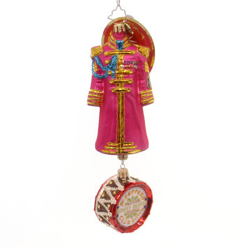 Christopher Radko Ringo Starr's Sgt Pepper's Coat Glass Ornament