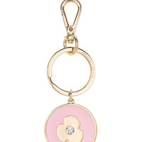 Kate Spade Virgo Keychain Light Pink/Clear ONE