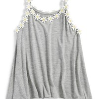 Flowers by Zoe 'Daisy' Tank Top (Big Girls) | Nordstrom