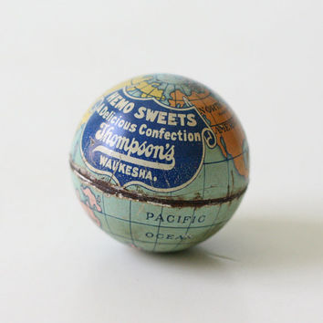 Vintage Globe Candy Container - Hemo Sweets