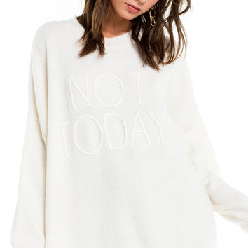 Not Today Omen Sweater - Wildfox