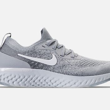 Nike Epic React Flyknit Wolf Grey Size 11.5