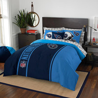 Tennessee Titans NFL Full Comforter Bed in a Bag (Soft & Cozy) (76in x 86in)