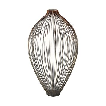Thrum 23-Inch Vase In Copper Ombre