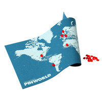 PinWorld Map + Wall Map Diary - A+R Store