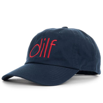 The Dilf Dad Hat in Navy