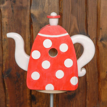 Designer nest box teapot handmade eco friendly home decoration original present