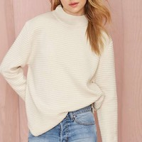 UNIF Bobbie Ribbed Sweater