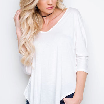Aden Top - White