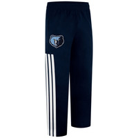 adidas Memphis Grizzlies On-Court Pants - Navy Blue