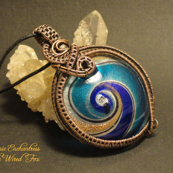 Wire Wrapped OOAK 'Cosmic Enchantress' by The Wired Fox on Zibbet