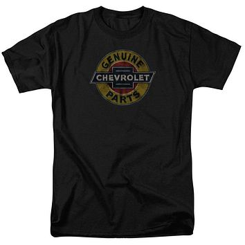 Chevy Genuine Chevy Parts Distressed Sign Mens T-Shirt