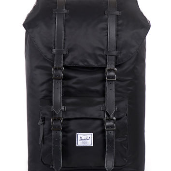 Herschel Supply Co. - Little America Backpack (Black Nylon)