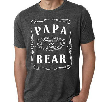 Papa Bear daddy tshirt