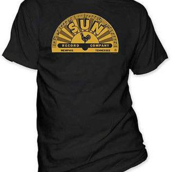 Sun Record Company Classic Rooster Memphis Logo Licensed Adult T-Shirt S-2XL Tee