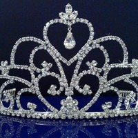 SC Bridal Wedding Tiara Crowns 48739