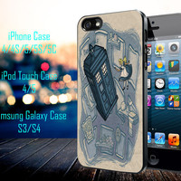 Awesome Disney Princess Doctor Who Mash-Up Samsung Galaxy S3/ S4 case, iPhone 4/4S / 5/ 5s/ 5c case, iPod Touch 4 / 5 case