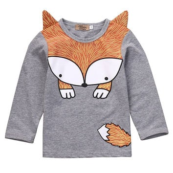 Childrens Red Fox Shirt