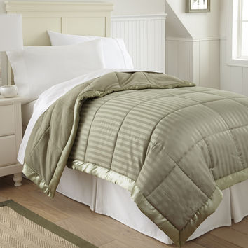Down Alternative Blanket Taupe Twin