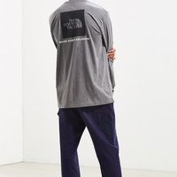 The North Face Red Box Long Sleeve Tee   Urban Outfitters