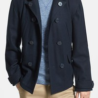 Men's Lucky Brand 'Pacific' Double Breasted Peacoat
