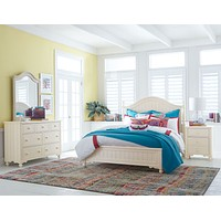 6481 Summerset Ivory - Low Poster Bed