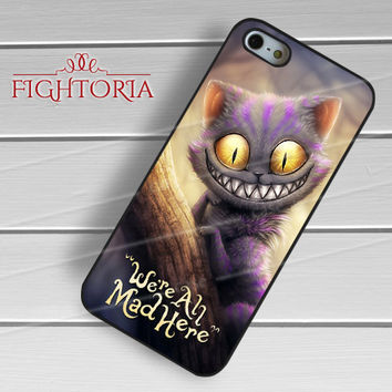 Disney cheshire cat on a tree -s5tl for iPhone 6S case, iPhone 5s case, iPhone 6 case, iPhone 4S, Samsung S6 Edge
