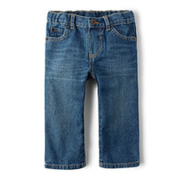Baby And Toddler Boys Basic Straight Jeans - Carbon Wash | The Children's Place