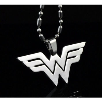 Wonder Woman 316 Stainless Steele Necklace
