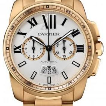 Cartier - Calibre de Cartier Chronograph Pink Gold
