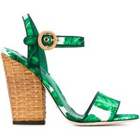 Dolce & Gabbana 'keira' Sandals - Browns - Farfetch.com