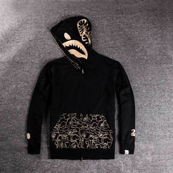 Men's Fashion Winter Hats Print Hoodies Jacket [429895155748]