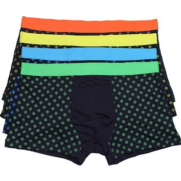 HOT Brand New Mens Sexy U-Convex Soft Bamboo Fiber Underwear Boxers Shorts Panties homme Trunks Pouch Boxershort Z1
