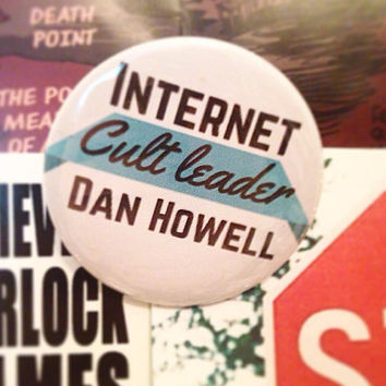 Danisnotonfire 2.5 Inch Pinback Button