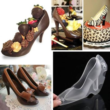 Chocolate Mold Shoe High Heel