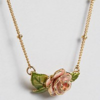 Bill Skinner Vintage Rose Pendant at asos.com