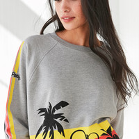 Op For UO Rainbow Striped Crew-Neck Sweatshirt | Urban Outfitters