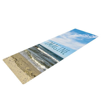 "Iris Lehnhardt ""Imagine"" Beach Sky Yoga Mat"