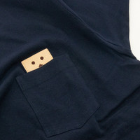 Danboard Embroidered Navy T-Shirt