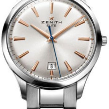 Zenith - Elite Captain Central Second Stainless Steel #03.2020.670/01.M2020