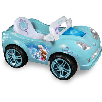 Walmart: Disney Frozen Convertible Car 6-Volt Battery-Powered Ride-On