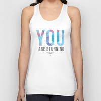 Stunning Unisex Tank Top by Ashley Hillman
