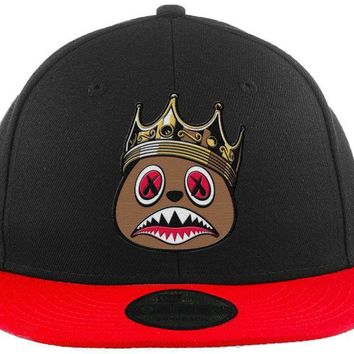 East Baws - New Era 9Fifty 2T Black/Red Snapback Hat