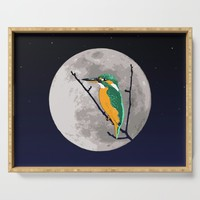 Fly me to the moon Serving Tray by savousepate
