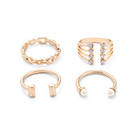 Mixed Open-End Ring Set