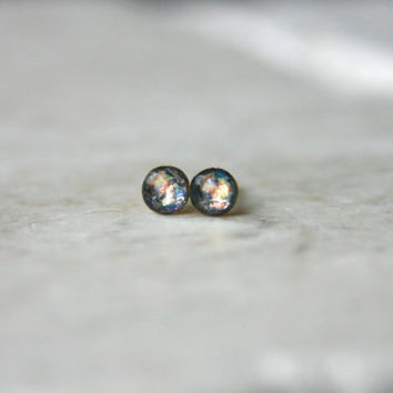 Limited Edition Galaxy Studs: 3mm or 4mm, Embers