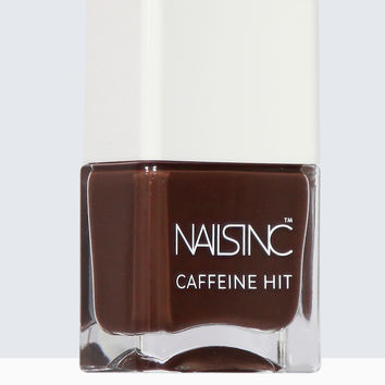 Nails inc Caffeine Hit Espresso Martini Nail Polish 14ml | Nails inc.US